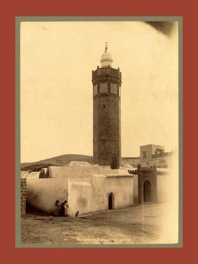 Mostaganem, Mosque, Algiers-Etienne & Louis Antonin Neurdein-Giclee Print