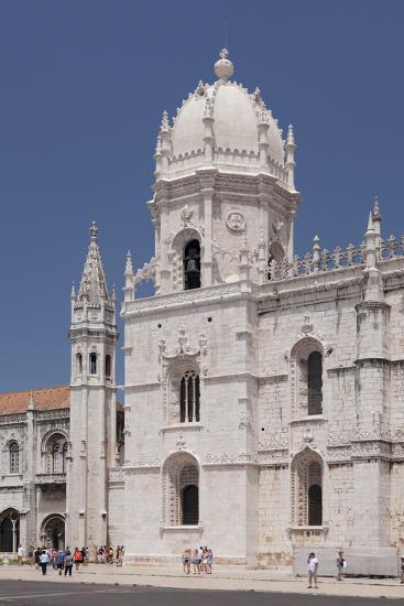 Mosteiro dos Jeronimos (Monastery of the Hieronymites), UNESCO World Heritage Site, Belem, Lisbon, -Markus Lange-Photographic Print