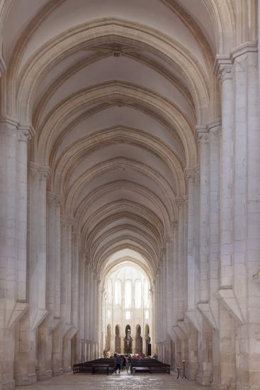 Mosteiro Santa Maria de Alcobaca Monastery, UNESCO World Heritage Site, Alcobaca, Estremadura, Port-Markus Lange-Photographic Print