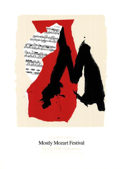 Mostly Mozart Festival-Robert Motherwell-Serigraph