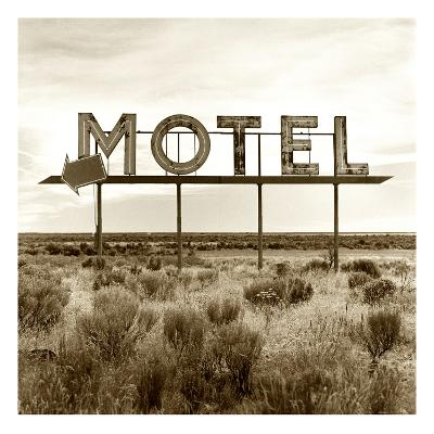 Motel Sign-TM Photography-Premium Photographic Print