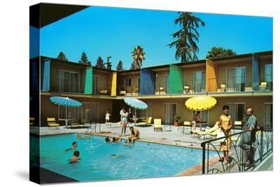 Motel Swimming Pool