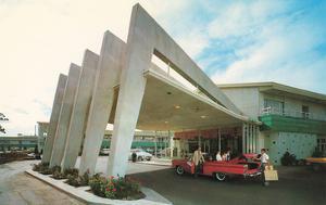 Motel with Geometric Archess