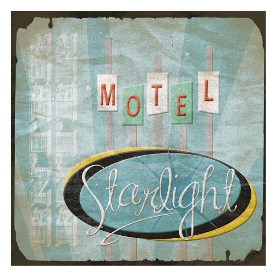 Motel-Jace Grey-Art Print