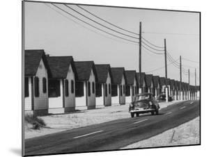 Motels Along the Road Side Near Provincetown