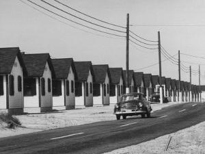 Motels Along the Road Side Near Provincetown