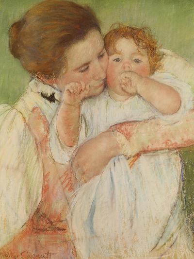 Mother and Child, 1897-Mary Cassatt-Giclee Print