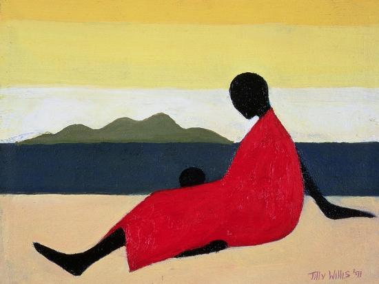 Mother and Child, 1991-Tilly Willis-Giclee Print