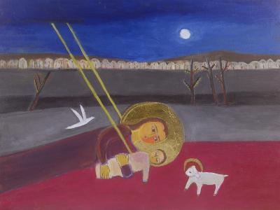 Mother and Child at Mazar, 2002-Roya Salari-Giclee Print