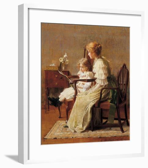 Mother and Child, c.1885-Francis Coates Jones-Framed Art Print