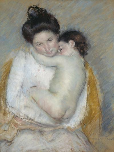 Mother and Child, C.1900-Mary Cassatt-Giclee Print