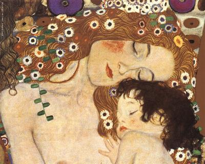 Mother and Child (detail from The Three Ages of Woman), c.1905-Gustav Klimt-Art Print