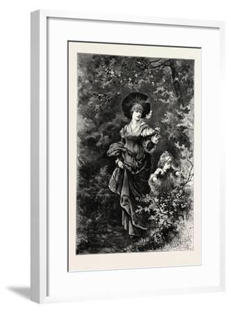 Mother and Child on a Walk, 1882--Framed Giclee Print