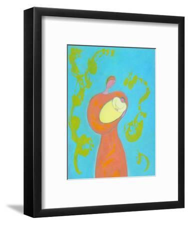 Mother and Child-Marie Bertrand-Framed Giclee Print