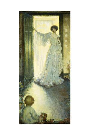 Mother and Child-Philip Leslie Hale-Giclee Print