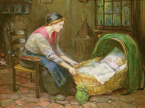 Mother and Child-Cornelis de Vos-Giclee Print