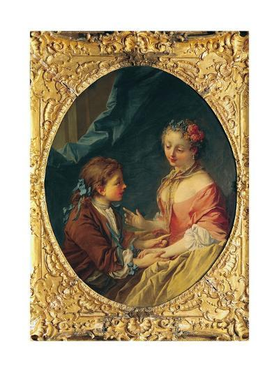 Mother and Child-Francois Boucher-Giclee Print