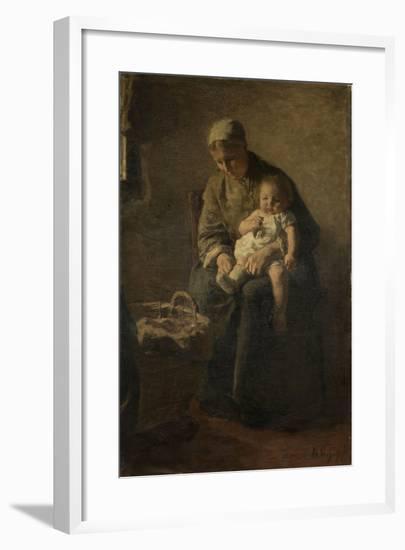 Mother and Child-Albert Neuhuys-Framed Art Print