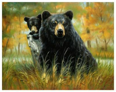 Mother and Cub-H^ Kendrick-Art Print