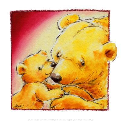 Mother Bear's Love III-Makiko-Art Print