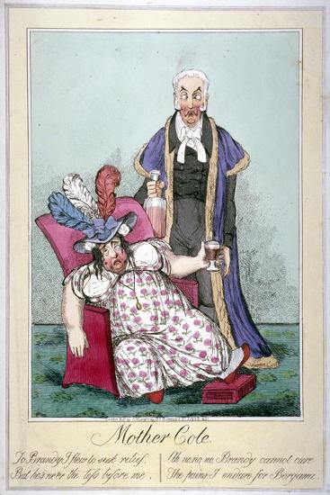 Mother Cole, 1821--Giclee Print