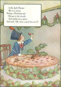 Mother Goose Rhyme, Little Jack Horner