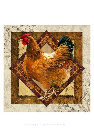 Mother Hen-Janet Stever-Art Print