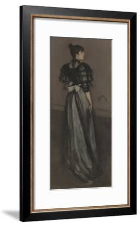 Mother of Pearl and Silver: the Andalusian, 1888-1900-James McNeill Whistler-Framed Giclee Print