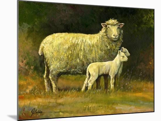 Mother of Twins-Jerry Cable-Mounted Giclee Print