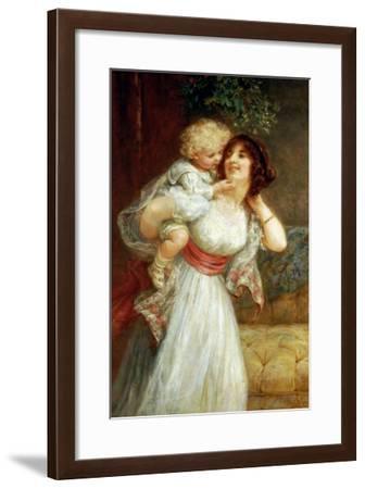 Mother's Darling-Frederick Morgan-Framed Giclee Print