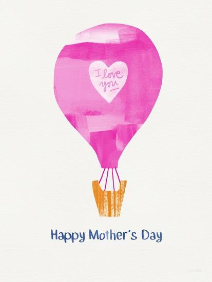 Mother's Day Balloon-Linda Woods-Art Print