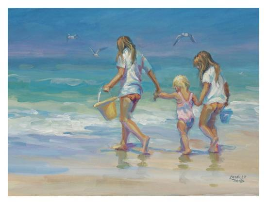 Mother's Helpers-Lucelle Raad-Art Print