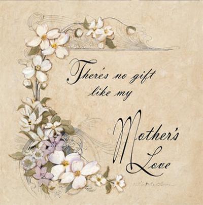 Mother's Love-Charlene Winter Olson-Art Print