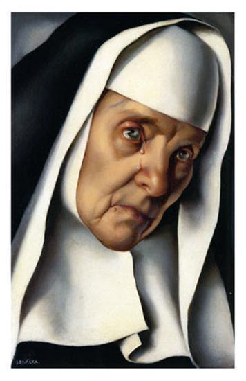 Mother Superior, c.1935-Tamara de Lempicka-Art Print