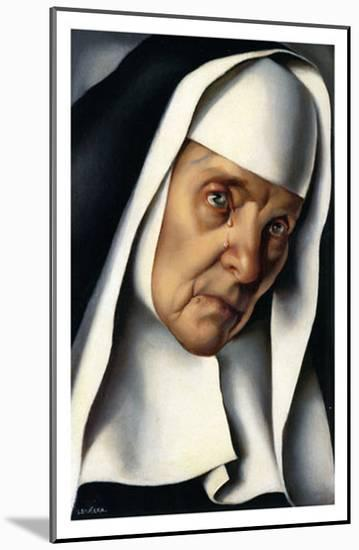 Mother Superior, c.1935-Tamara de Lempicka-Mounted Art Print