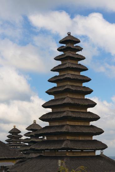 Mother Temple of Besakih, Bali, Indonesia-Keren Su-Photographic Print