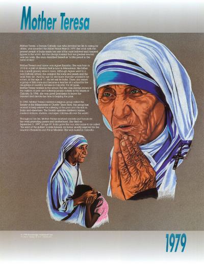 Mother Teresa--Art Print