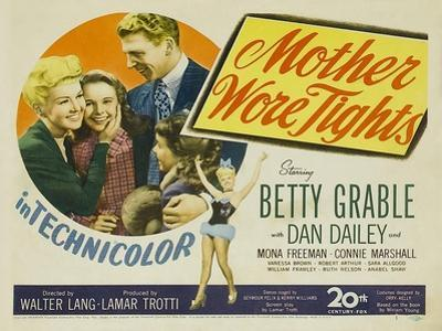 Mother Wore Tights, 1947
