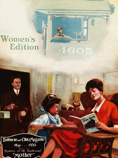 Mother-Charles H. Dickson-Giclee Print