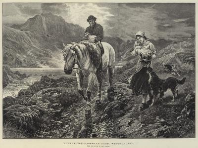 Motherless, Easedale Tarn, Westmorland-Basil Bradley-Giclee Print