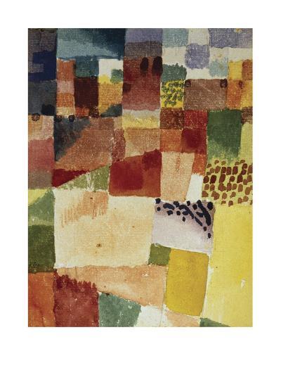 Motif from Hammamet, 1914 (No 48)-Paul Klee-Photographic Print