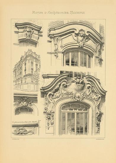 Motifs D'architecture Moderne I-Schmidt Schmidt-Premium Giclee Print