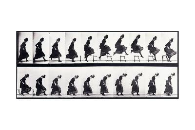 Motion Study, C.1872-1885-Eadweard Muybridge-Giclee Print