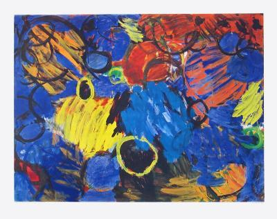 Motion-Ernst  Wilhelm Nay-Collectable Print