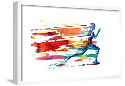 Motion-okalinichenko-Framed Giclee Print