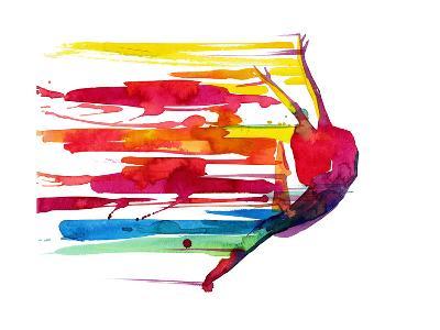 Motion-okalinichenko-Art Print