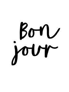 Bonjour by Motivated Type