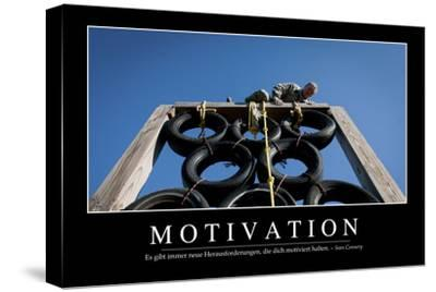 Motivation: Motivationsposter Mit Inspirierendem Zitat