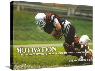 Motivation--Stretched Canvas Print