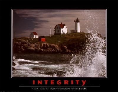 Motivational Integrity--Art Print